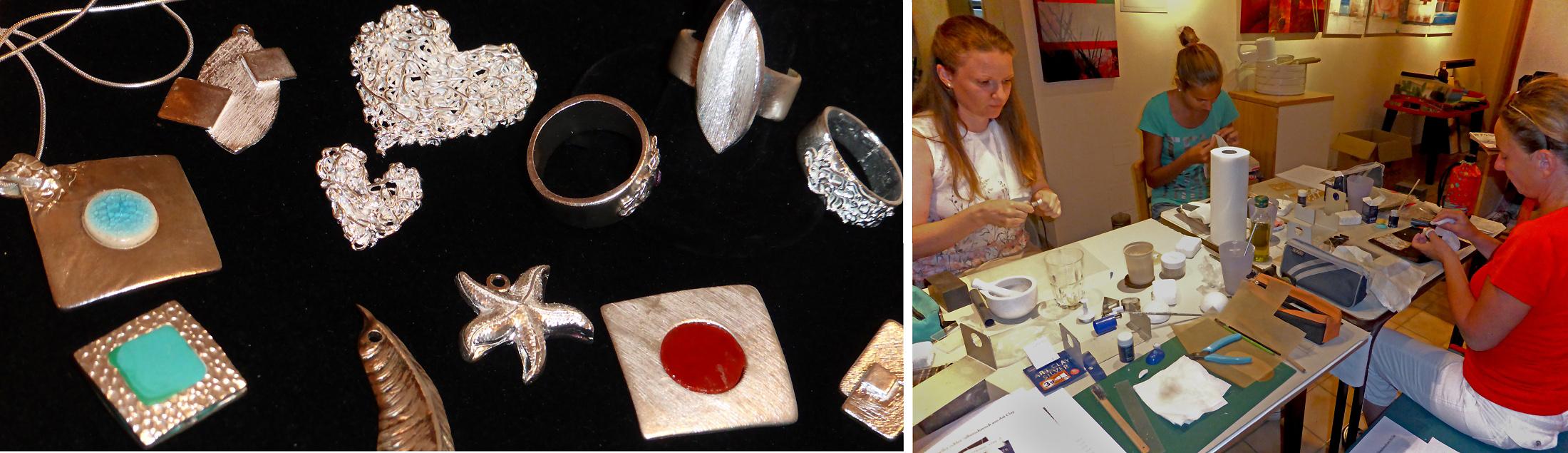 Art Clay Silver - Herstellung von Silberschmuck - mit Sabine Schimani