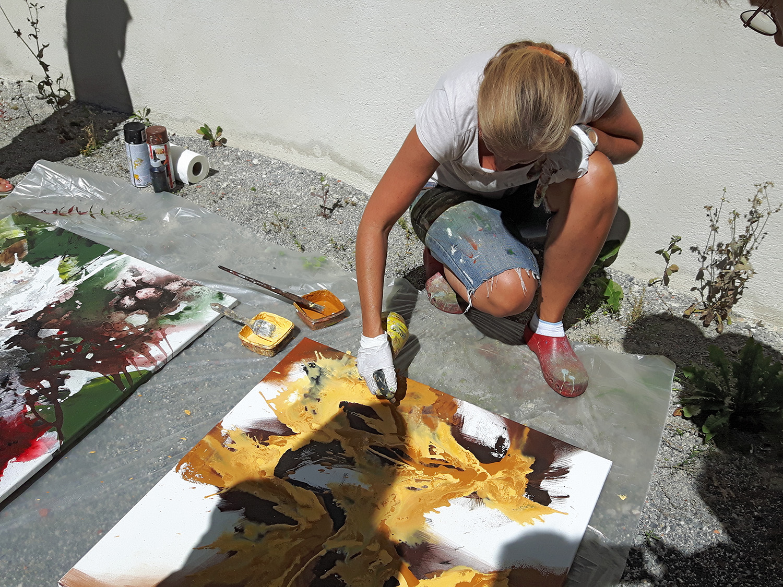 Eftichia  Schuster-Szentmiklosi- Aflenzer Kunstwochen