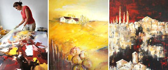 Aflenzer Kunstwochen - Acrylmalerei - Eftichia Schlamadinger